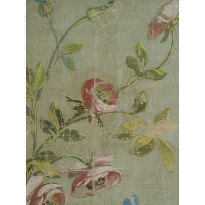 Carton De Tapisserie d'Aubusson, Fleurs, XIX ème (2)
