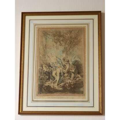 Gravure XVIII ème, d'Après Boucher, Par Demarteau l'Aîné (1)