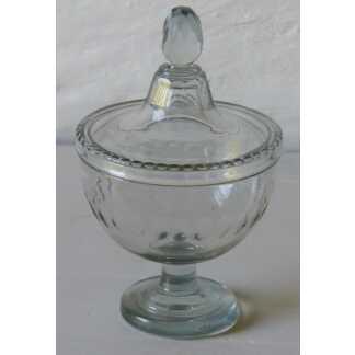 Drageoir Ou Compotier En Cristal XIX ème