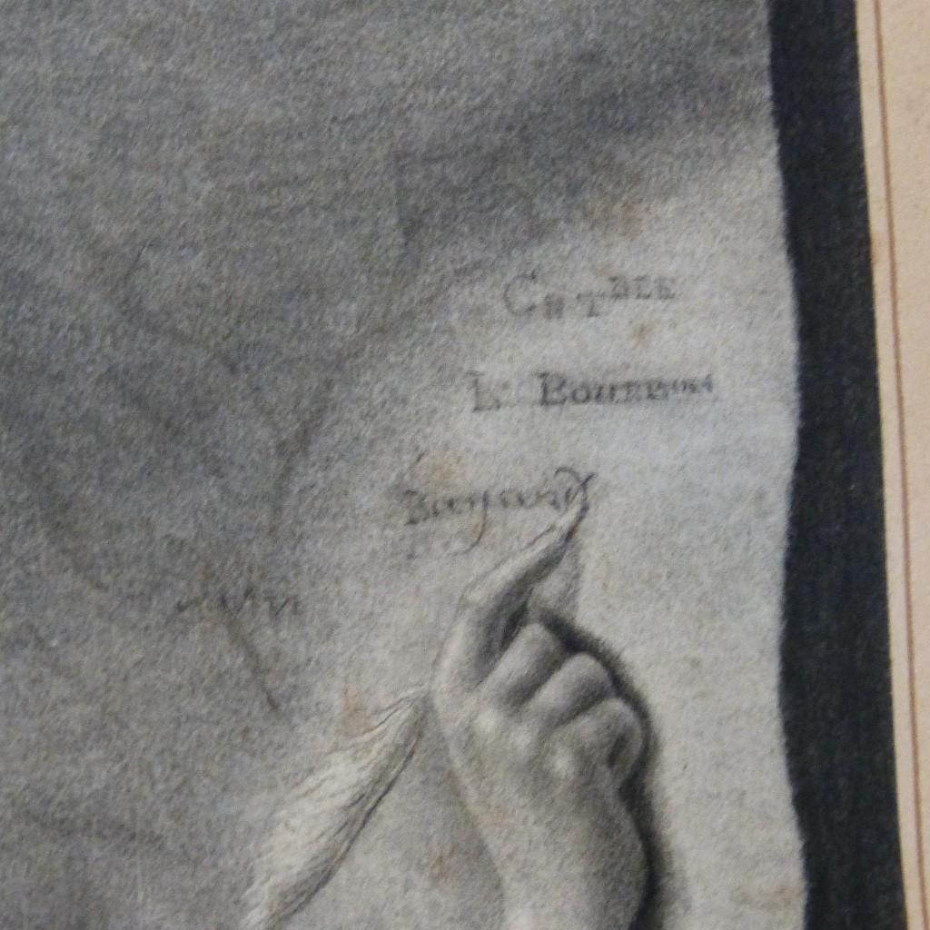 Dessin XIX ème, Le Précepteur Et Son élève, Leçon Bayard