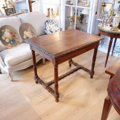 Table De Milieu En Noyer, époque XVII ème, Table d'Appoint